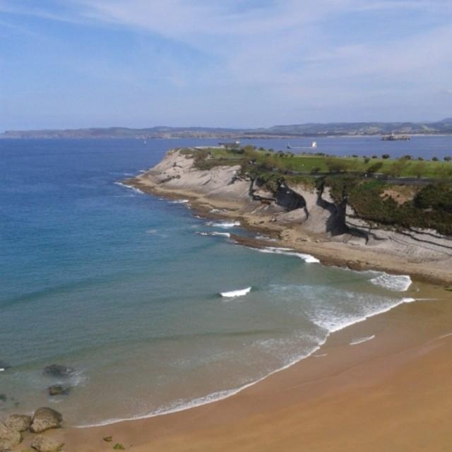 Playa de la Magdalena. Santander. Cantabria