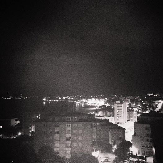 Santander de noche. Cantabria.
